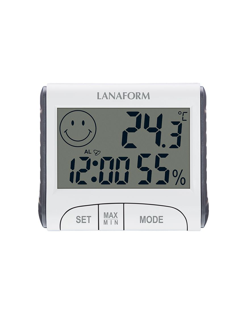 Nhiệt ẩm kế điện tử có giờ Lanaform LA120701 - 930347 , 9067096583696 , 62_1993027 , 430000 , Nhiet-am-ke-dien-tu-co-gio-Lanaform-LA120701-62_1993027 , tiki.vn , Nhiệt ẩm kế điện tử có giờ Lanaform LA120701