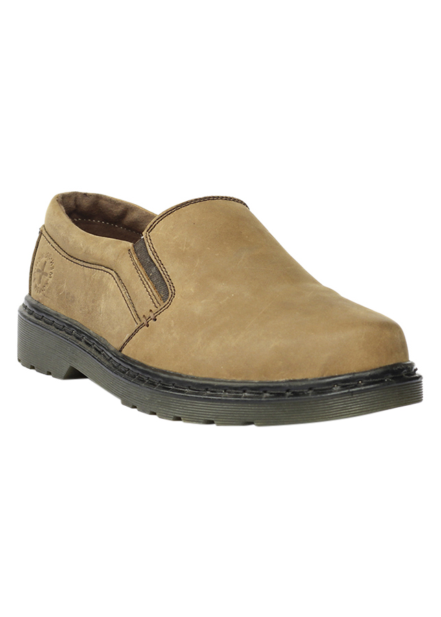 Giày Da Nam Mã Men - 66 Màu Nâu Sáp