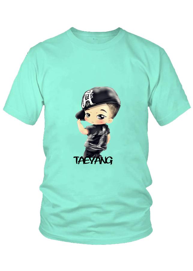 Áo thun nam thời trang cao cấp Taeyang Chibi nhóm BigBang  M7
