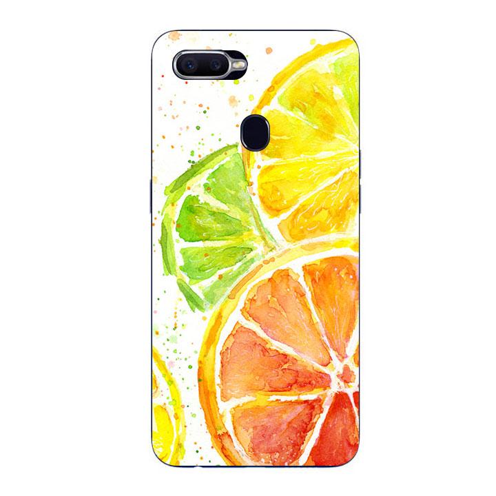 Ốp Lưng Dẻo Cho Điện thoại Oppo F9 - Oranges