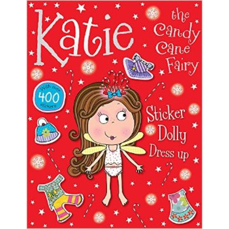 Katie The Candy Cane Fairy Sticker Dolly Dress Up