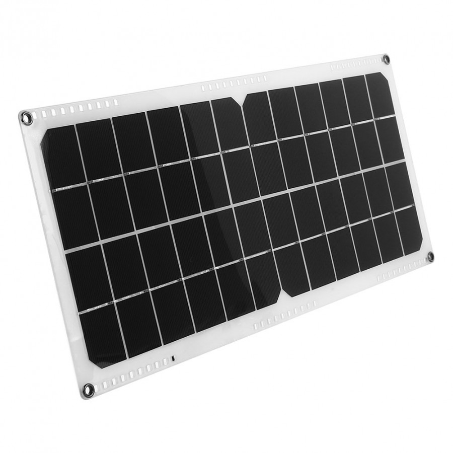 Solar Panel Solar Cells Connectable Monocrystalline Silicon 42*19cm Hiking Outdoor