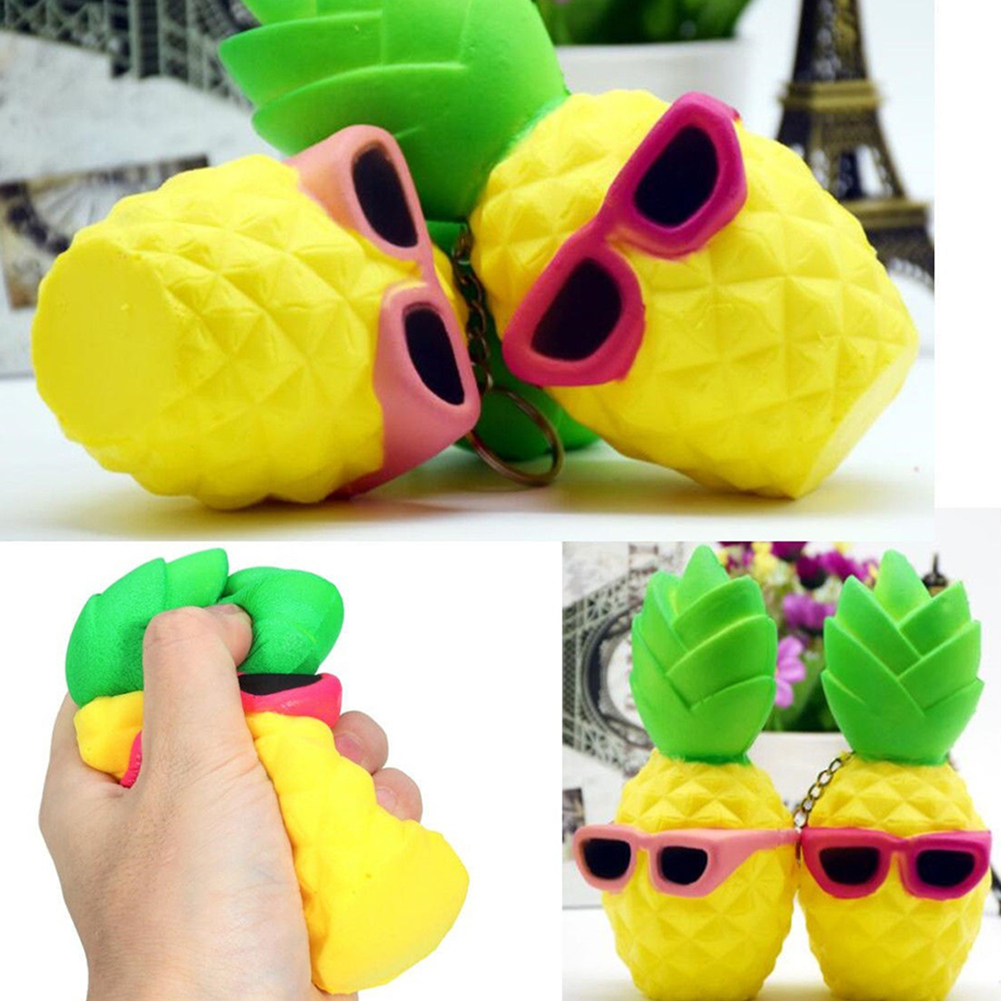 Squishy Funny Pineapple Scented Squeeze Slow Rising Fun Toy Relieve Stress Gift - 16641579 , 8583578710158 , 62_27345160 , 109000 , Squishy-Funny-Pineapple-Scented-Squeeze-Slow-Rising-Fun-Toy-Relieve-Stress-Gift-62_27345160 , tiki.vn , Squishy Funny Pineapple Scented Squeeze Slow Rising Fun Toy Relieve Stress Gift