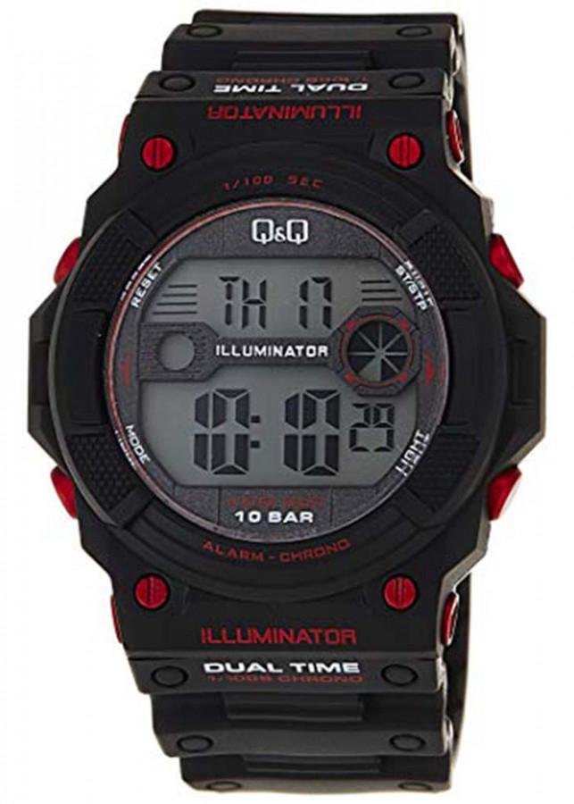 Đồng hồ điện tử nam QQ Citizen M140J001Y  dây nhựa thương hiệu Nhật Bản