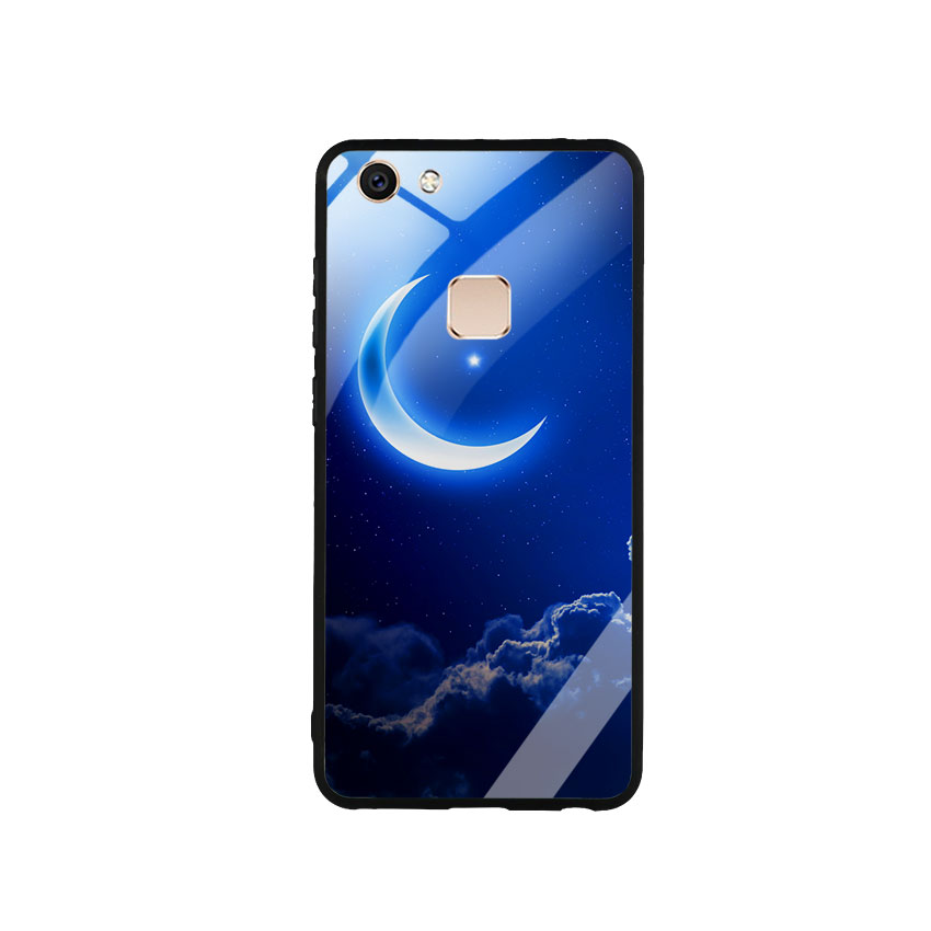 Ốp Lưng Kính Cường Lực cho điện thoại Vivo V7 -  0220 MOON01