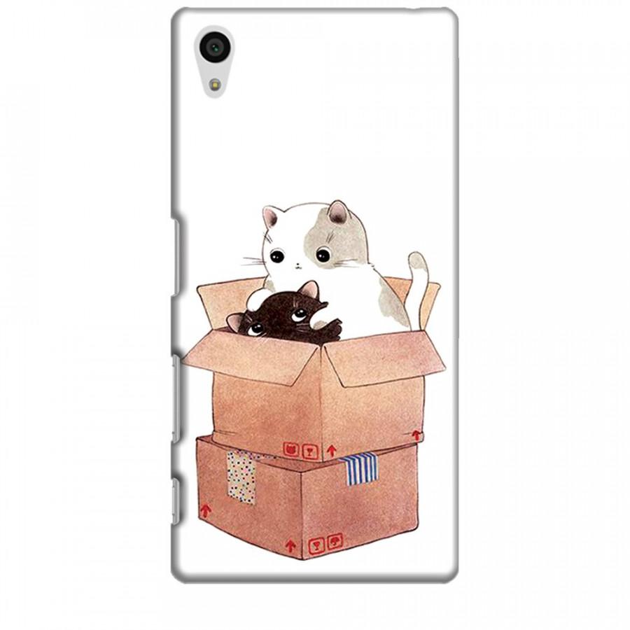 Ốp lưng dành cho điện thoại SONY Z5 Mèo Con Dễ Thương