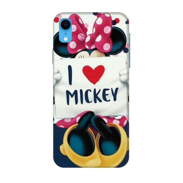 Ốp Lưng Dành Cho Điện Thoại iPhone Xr - I Love Mickey