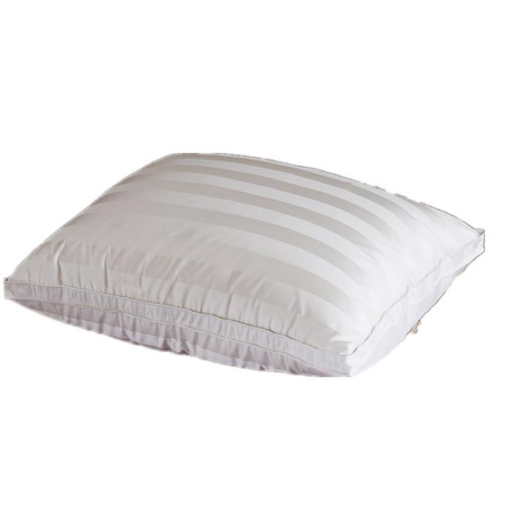 Gối Lông Vũ Down Pillow Vỏ Tơ Tằm Thiên Nhiên Cao Cấp PA9207