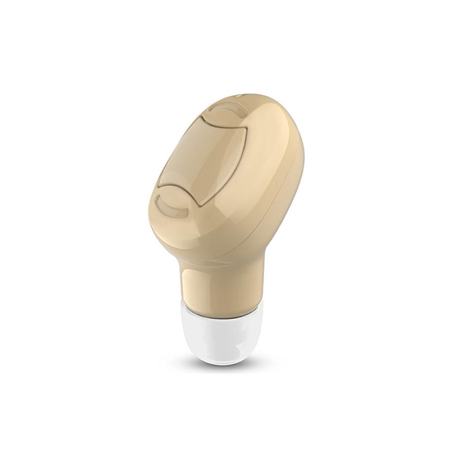 Steek True Wireless Bluetooth Headset Mini Invisible Sports In-Ear Bluetooth Headset Car Business Music Running Single Ear Universal Apple...