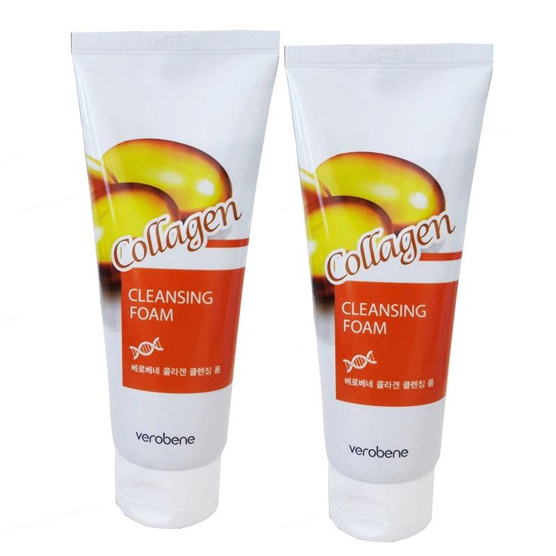 Combo 2 Sữa rửa mặt Collagen - Verobene Collagen Cleansing Foam (150ml x 2) - 1594154 , 2609471841037 , 62_10683379 , 288000 , Combo-2-Sua-rua-mat-Collagen-Verobene-Collagen-Cleansing-Foam-150ml-x-2-62_10683379 , tiki.vn , Combo 2 Sữa rửa mặt Collagen - Verobene Collagen Cleansing Foam (150ml x 2)