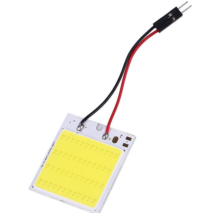 Bảng Đèn LED Trắng Nội Thất Ô Tô T10 80LM 48SMD