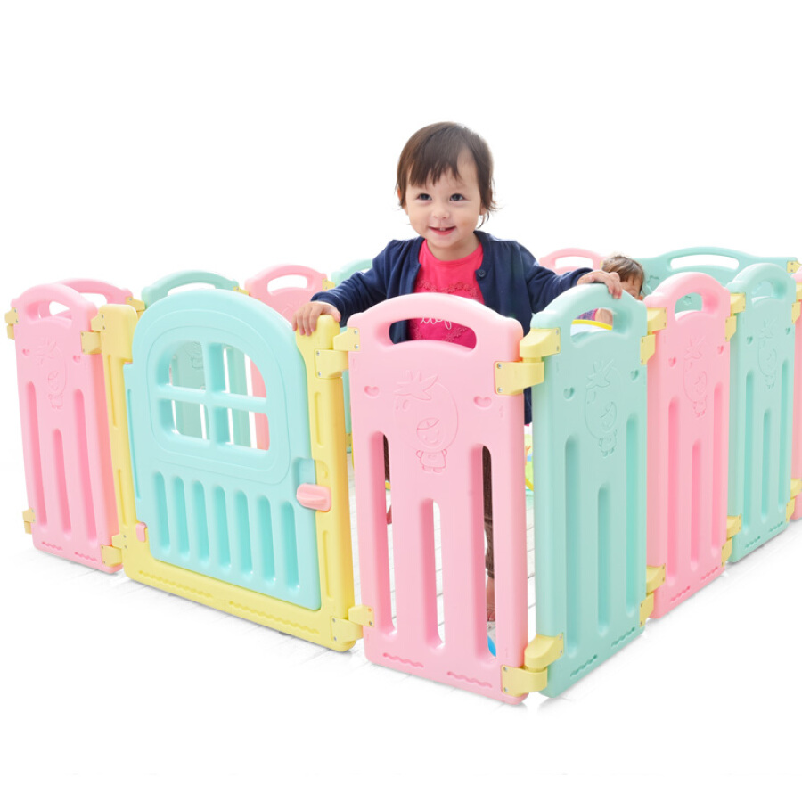 Ole baby safe crawling toddler fence fence baby children home indoor and outdoor play fence 12+2 AL-W16093003