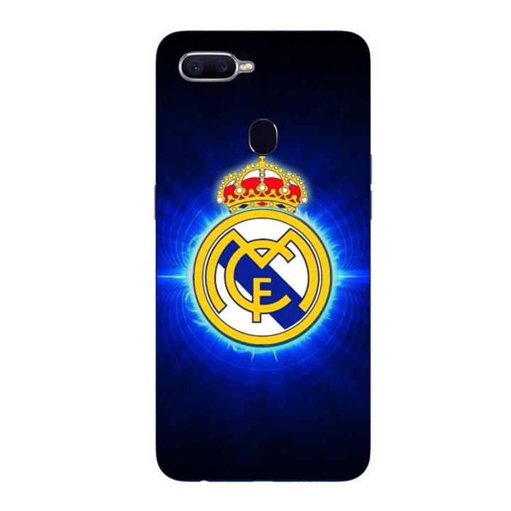 Ốp Lưng Dẻo Cho Điện thoại Oppo F9 - Clb Real Madrid 01