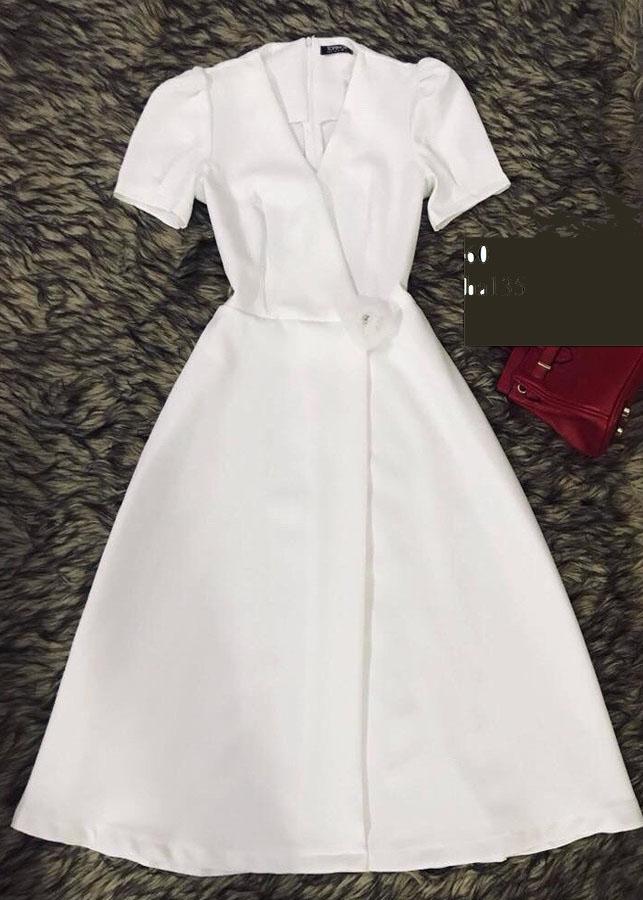 Đầm tiểu thư cao cấp - ha135