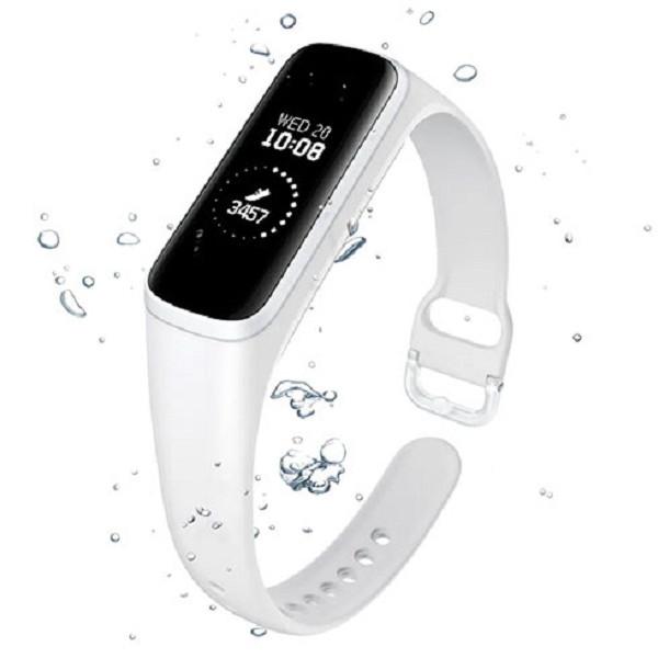 Vòng đeo tay thông minh Samsung Galaxy Fit e- Trắng - Hàng nhập khẩu - 18395374 , 6682445242265 , 62_15474147 , 1190000 , Vong-deo-tay-thong-minh-Samsung-Galaxy-Fit-e-Trang-Hang-nhap-khau-62_15474147 , tiki.vn , Vòng đeo tay thông minh Samsung Galaxy Fit e- Trắng - Hàng nhập khẩu