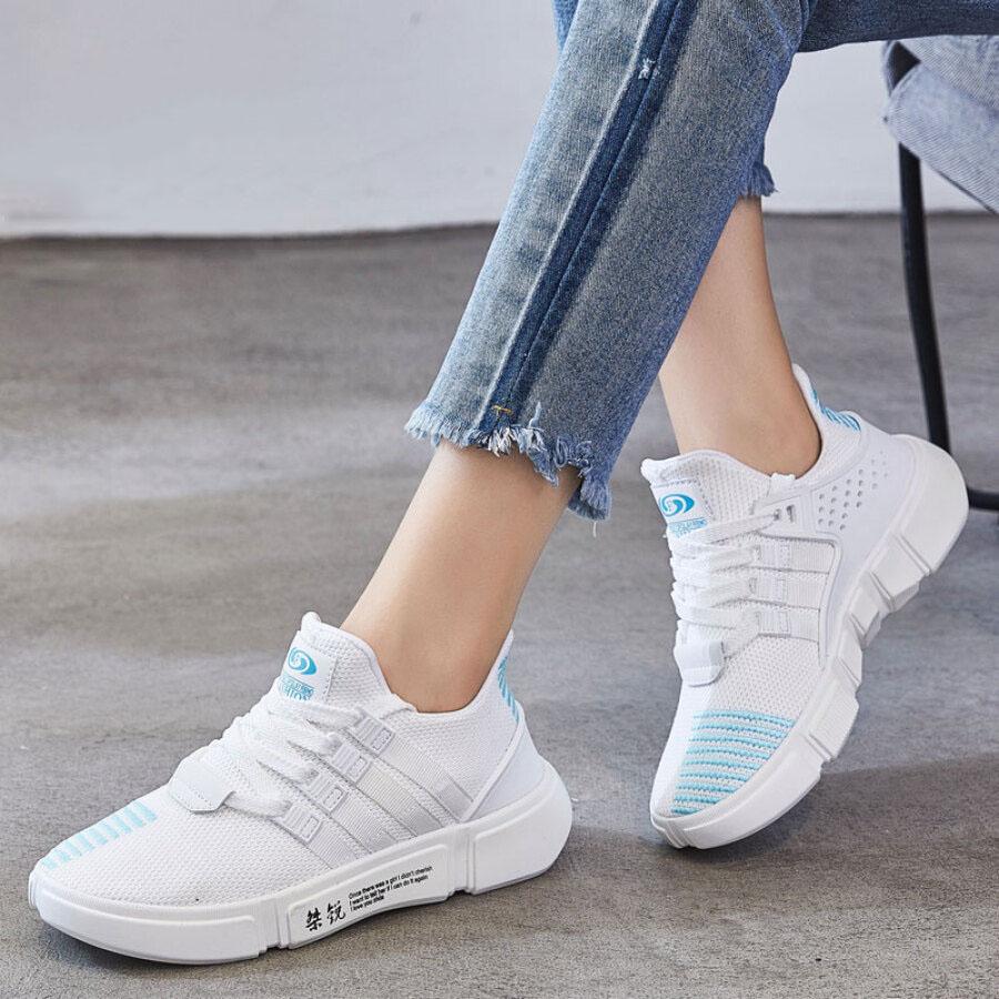Giày Thể Thao Nữ Kẻ Sọc L