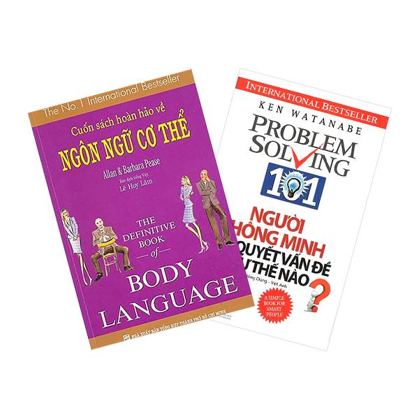 Combo Cuốn Sách Hoàn Hảo Về Ngôn Ngữ Cơ Thể - Body Language + Người Thông Minh Giải Quyết Vấn Đề Như Thế Nào (2... - 1869864 , 4778057529718 , 62_14197838 , 242000 , Combo-Cuon-Sach-Hoan-Hao-Ve-Ngon-Ngu-Co-The-Body-Language-Nguoi-Thong-Minh-Giai-Quyet-Van-De-Nhu-The-Nao-2...-62_14197838 , tiki.vn , Combo Cuốn Sách Hoàn Hảo Về Ngôn Ngữ Cơ Thể - Body Language + Người