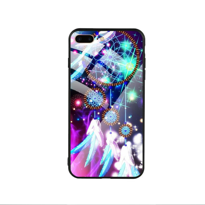 Ốp lưng kính cường lực cho điện thoại Iphone 7 Plus / 8 Plus - Dreamcatcher