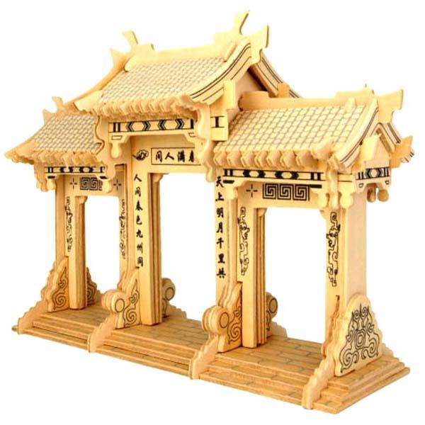 Mô hình lắp ghép 3D bằng gỗ Cổng Vòm Archway - 1675907 , 2312512464989 , 62_11633113 , 279000 , Mo-hinh-lap-ghep-3D-bang-go-Cong-Vom-Archway-62_11633113 , tiki.vn , Mô hình lắp ghép 3D bằng gỗ Cổng Vòm Archway