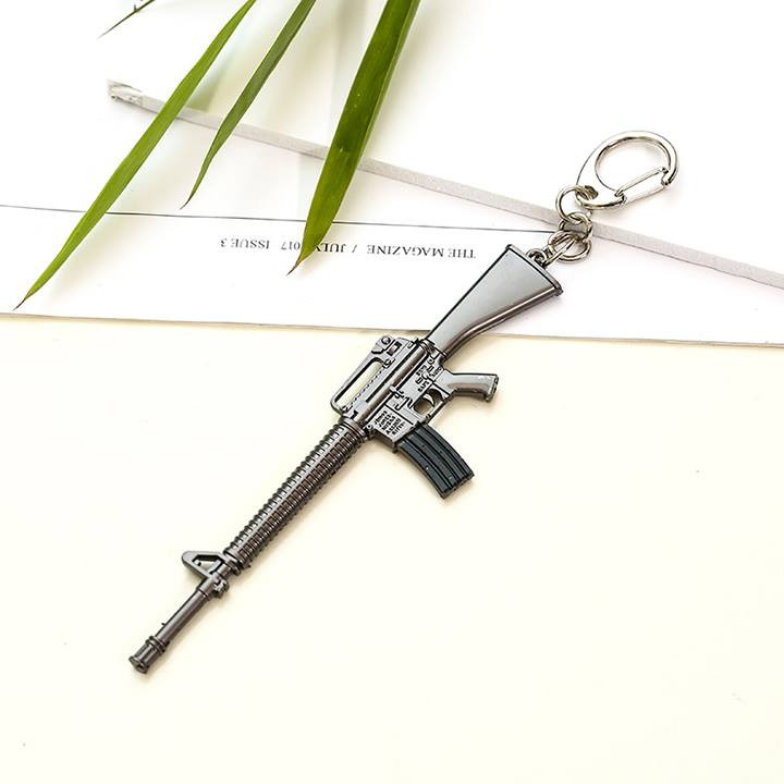 Móc khóa mô hình trong Game PUBG Mẫu MK-S-M16A4