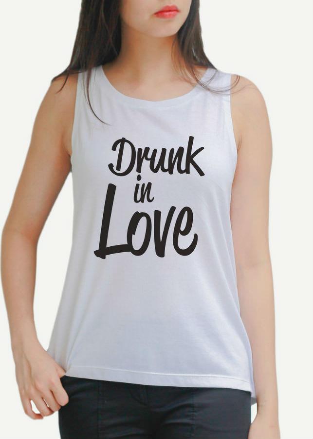 Áo Tanktop Nữ Drunk In Love - Trắng - 1179257 , 8025015236970 , 62_7583647 , 195000 , Ao-Tanktop-Nu-Drunk-In-Love-Trang-62_7583647 , tiki.vn , Áo Tanktop Nữ Drunk In Love - Trắng