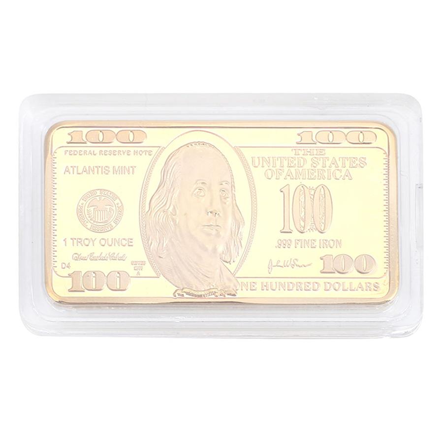 Đồng Tiền Kỉ Niệm 100 Dollars