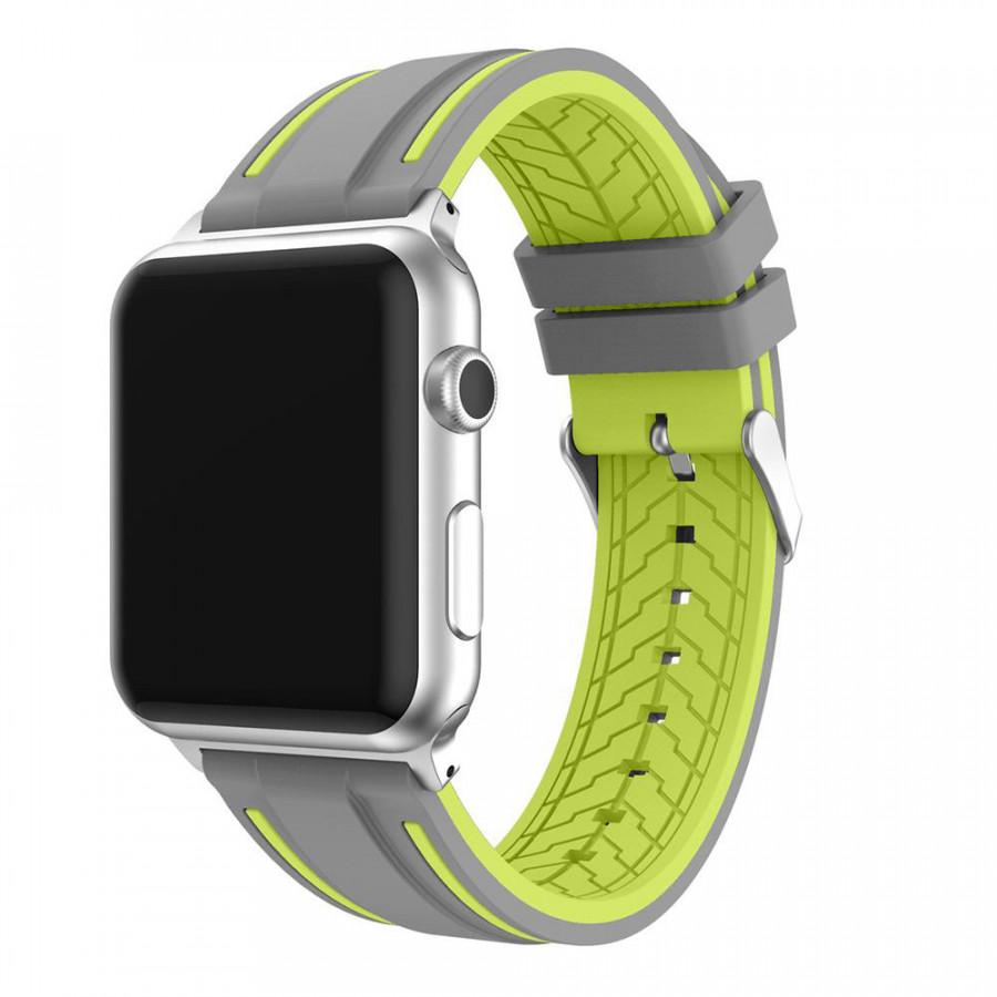 Dây đeo dành cho apple watch Cao su - viền màu