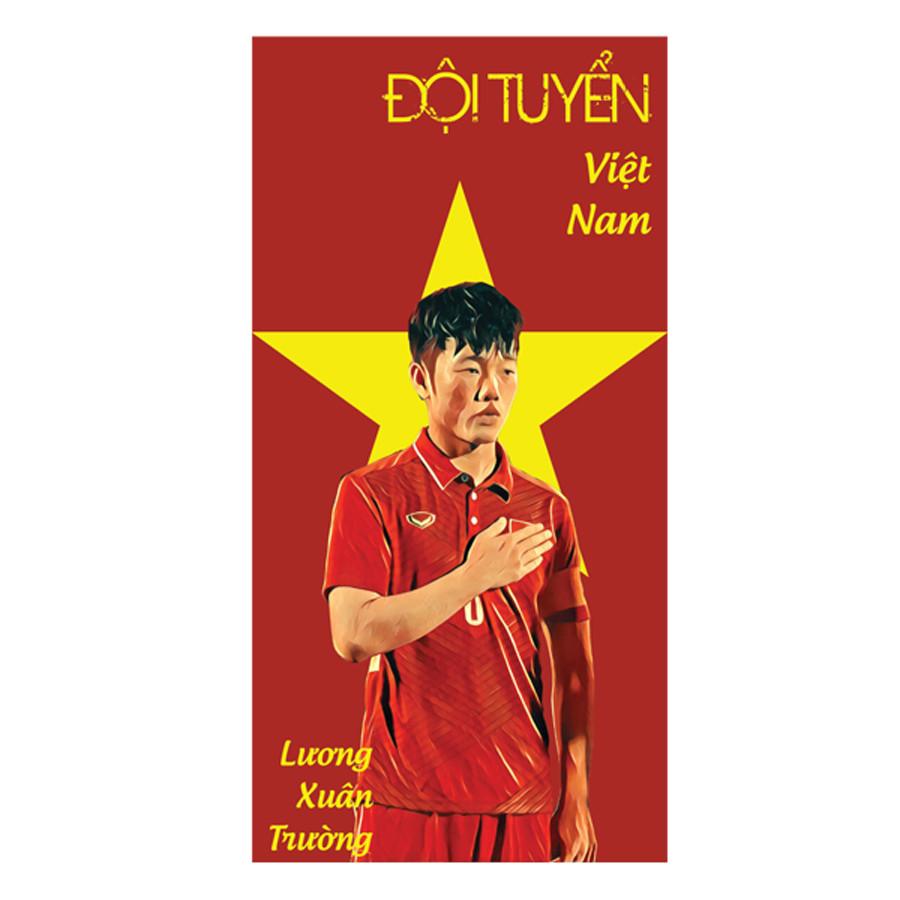 Set 6 Chiếc Lì Xì Lương Xuân Trường - Đội Tuyển Việt Nam