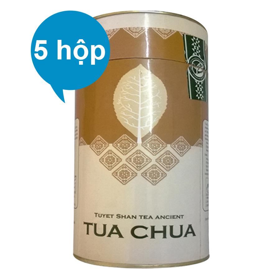 Combo 5 Chè Tuyết Shan Cổ Thụ Tủa Chùa Dien Bien Food (100g / Hộp)