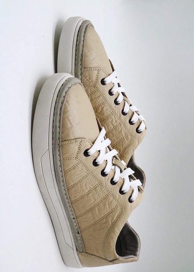 Giày da sần đen 243-206