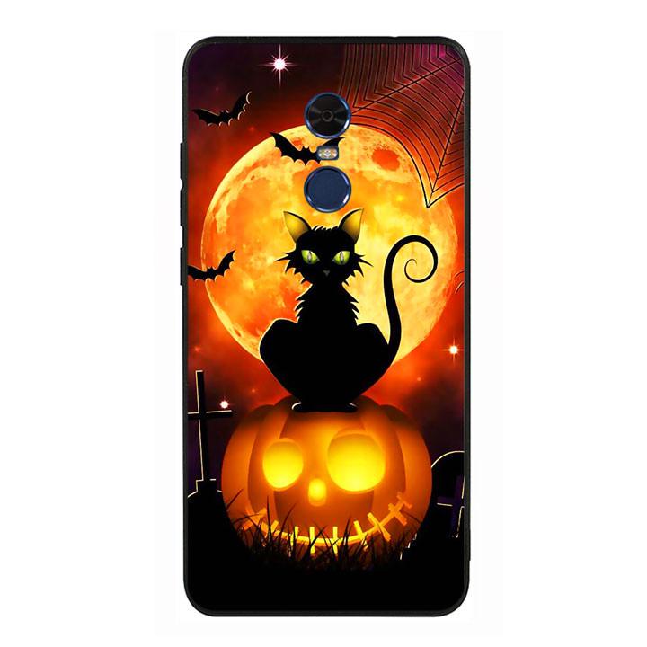 Ốp lưng Halloween viền TPU cho điện thoại Xiaomi Redmi Note 4 - Mẫu 05