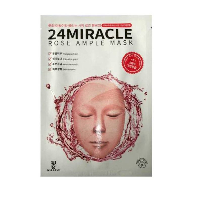Mặt nạ 24MIRACLE Rose Ample Mask