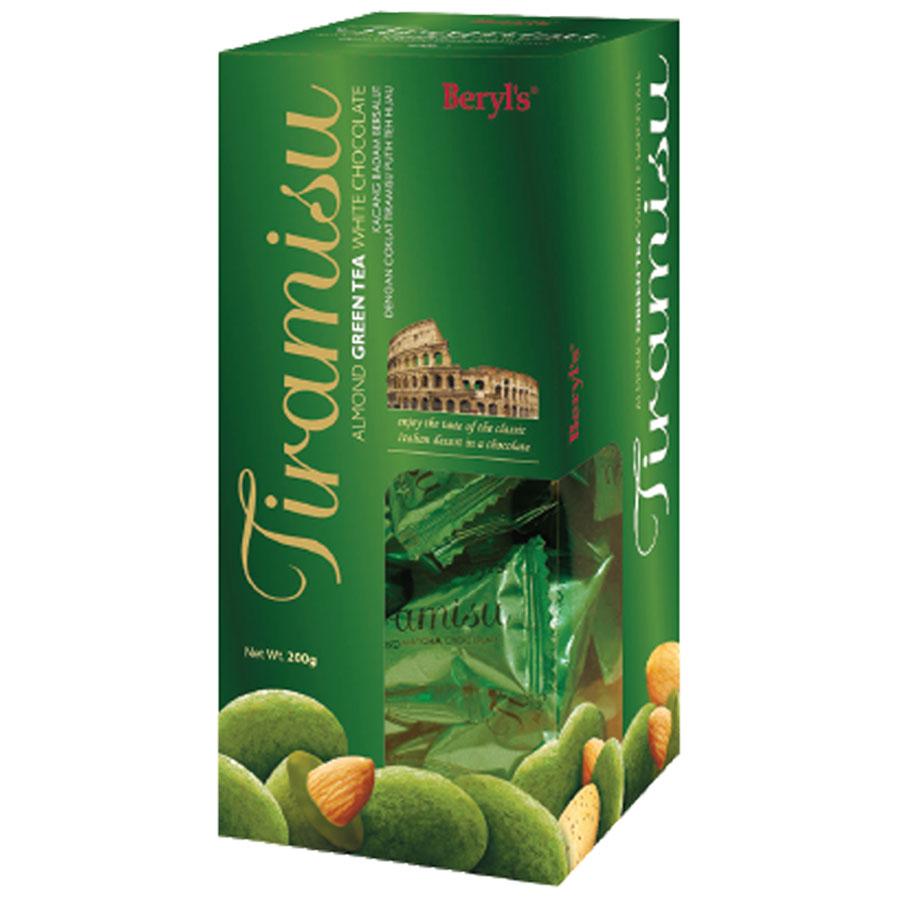 Chocolate Beryls Tira Green Tea 200gr