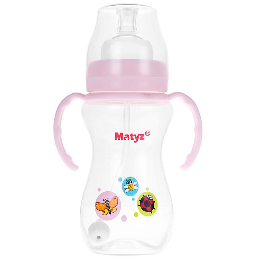 Bình Sữa Tay Cầm Chất Liệu PP Matteo Matyz MZ-0614 (260ml)