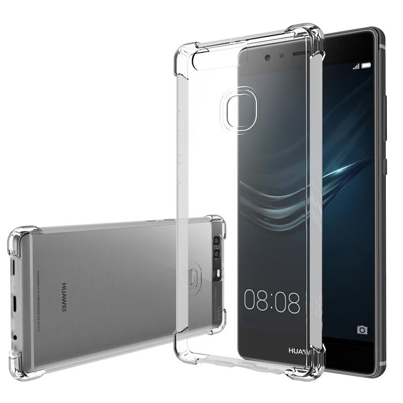 Ốp Lưng Nhựa Dẻo Dành Cho Huawei P9 Escase - Trong Suốt