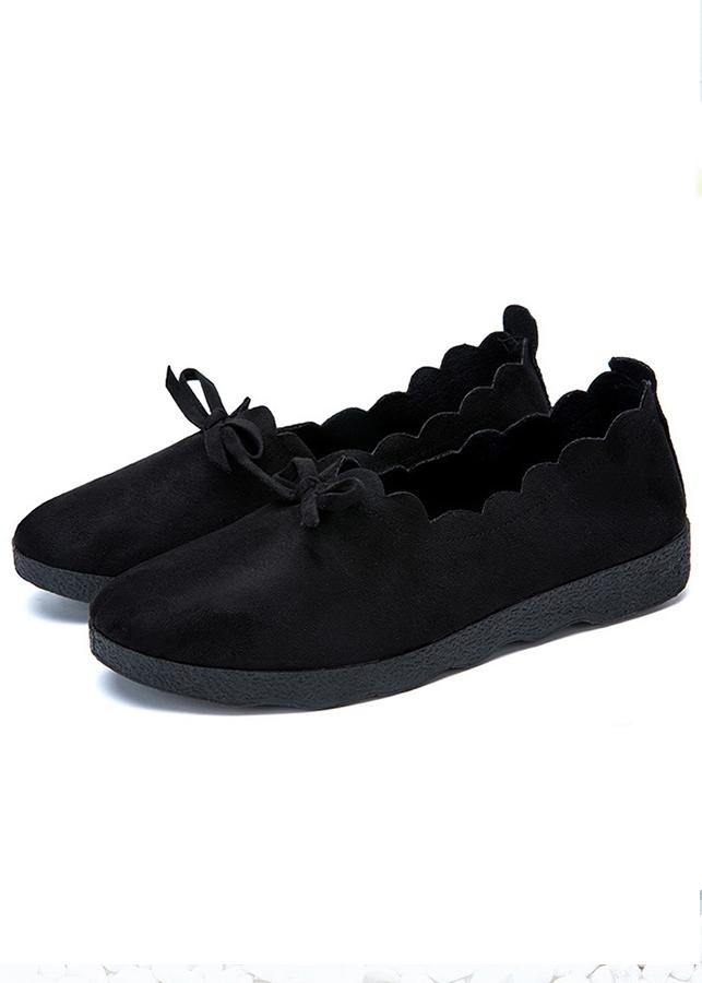 Giày lười slip-on nữ vải da lộn đế bằng cao 2cm trang trí nơ kiểu vintage thích hợp với nữ công sở và nữ sinh... - 2366439 , 1748105991371 , 62_15478586 , 165000 , Giay-luoi-slip-on-nu-vai-da-lon-de-bang-cao-2cm-trang-tri-no-kieu-vintage-thich-hop-voi-nu-cong-so-va-nu-sinh...-62_15478586 , tiki.vn , Giày lười slip-on nữ vải da lộn đế bằng cao 2cm trang trí nơ kiể