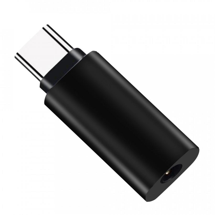 Adapter Conversion Mini 3.5mm Type-C Audio Smart Phone - White
