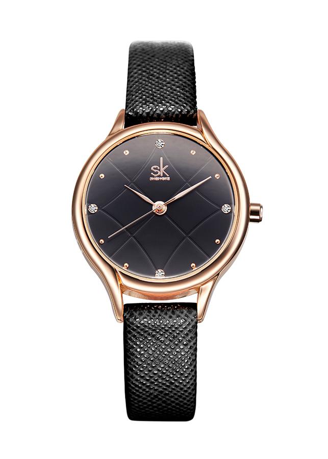 Đồng hồ nữ Shengke K8013L-03 Đen