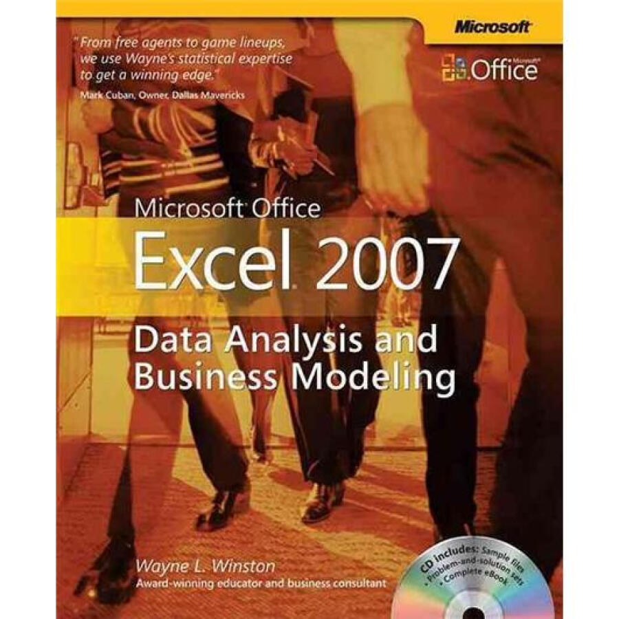 Microsoft Office Excel 2007: Data Analysis  Business Modeling Book/CD Package - 1239333 , 1332511386717 , 62_5278095 , 1044000 , Microsoft-Office-Excel-2007-Data-Analysis-Business-Modeling-Book-CD-Package-62_5278095 , tiki.vn , Microsoft Office Excel 2007: Data Analysis  Business Modeling Book/CD Package