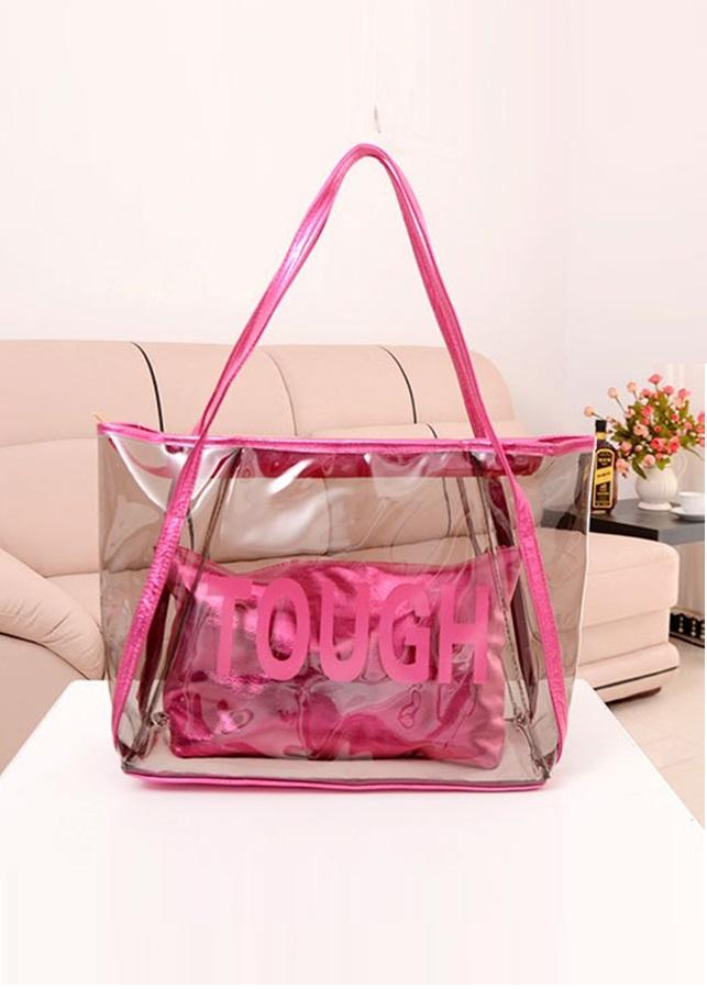 Túi xách trong suốt xinh xắn TX018