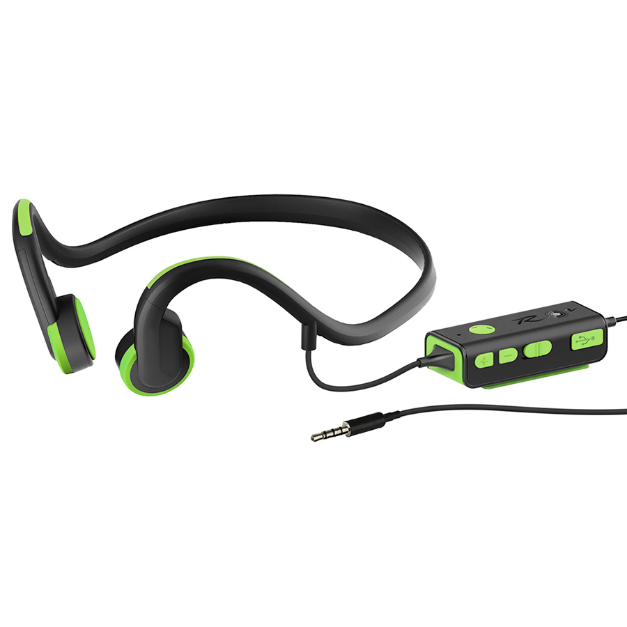 Bone Conduction Headsets Wired Earphone Outdoor Sports Headphones Noise Reduction HandsFree With Mic