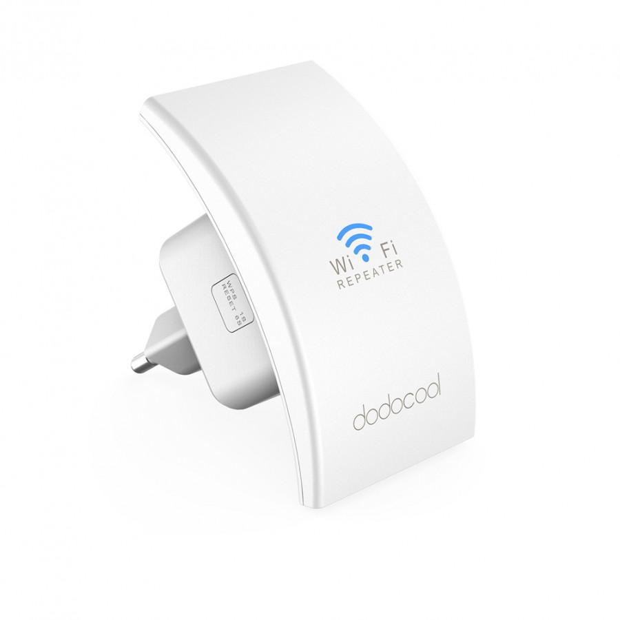 Bộ Khuếch Đại Sóng Wifi Dodocool (7.5 x 4.3 x 8.2cm) - 5038015 , 1413679043985 , 62_15540552 , 510000 , Bo-Khuech-Dai-Song-Wifi-Dodocool-7.5-x-4.3-x-8.2cm-62_15540552 , tiki.vn , Bộ Khuếch Đại Sóng Wifi Dodocool (7.5 x 4.3 x 8.2cm)