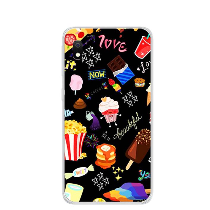 Ốp lưng dẻo cho điện thoại Samsung Galaxy A10 - 0197 FOOD - Hàng Chính Hãng