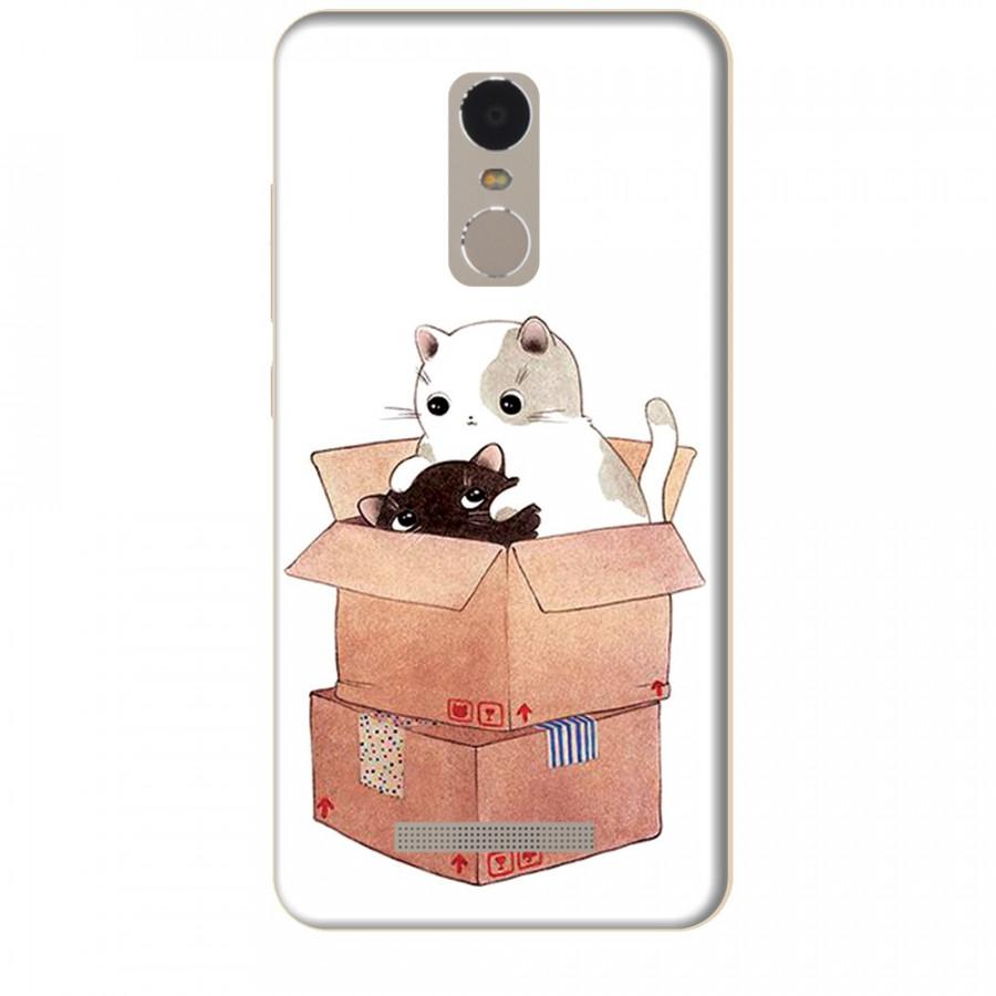 Ốp lưng dành cho điện thoại XIAOMI NOTE 3 Mèo Con Dễ Thương