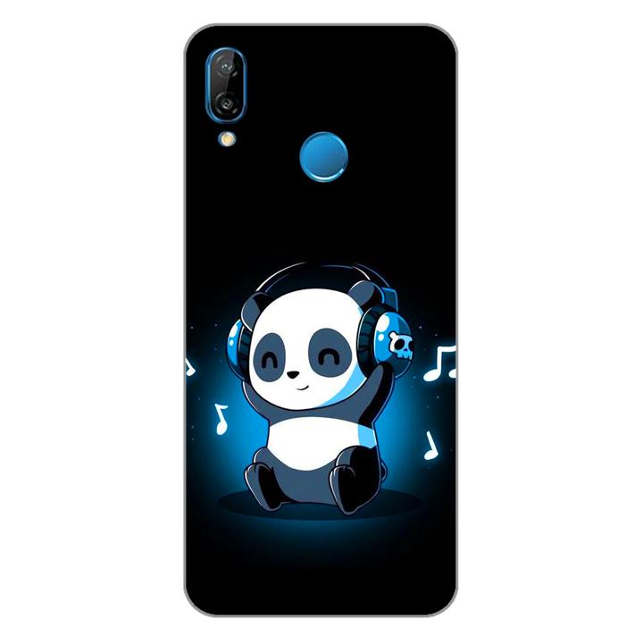 Ốp lưng dẻo cho điện thoại Huawei Nova 3e_Panda 05