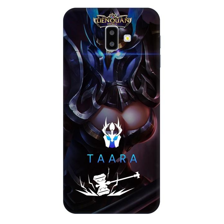 Ốp lưng nhựa cứng nhám dành cho Samsung GalaxyJ6 Plus in hình Taara