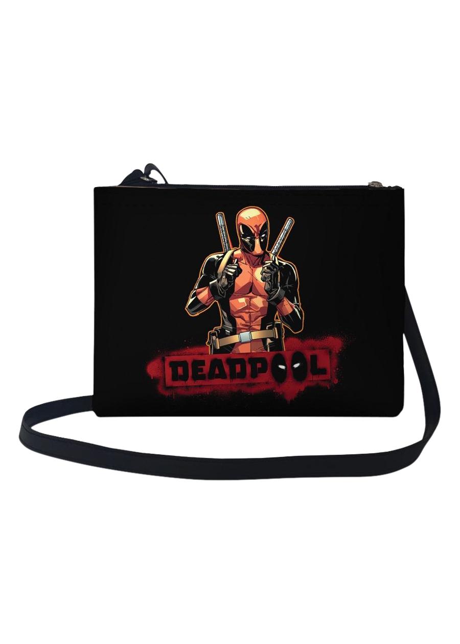 Túi Đeo Chéo Nữ In Hình Deadpool Tạo Dáng TUFF130