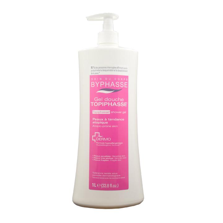 Sữa tắm dành cho da bình thường màu hồng 1L Byphasse