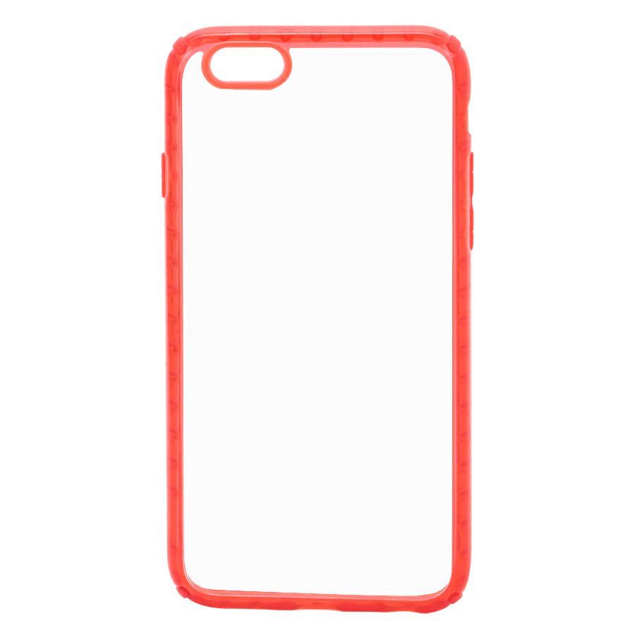 Ốp Lưng Dành Cho iPhone 6 / 6S Trong Suốt Viền Silicon Cao Cấp