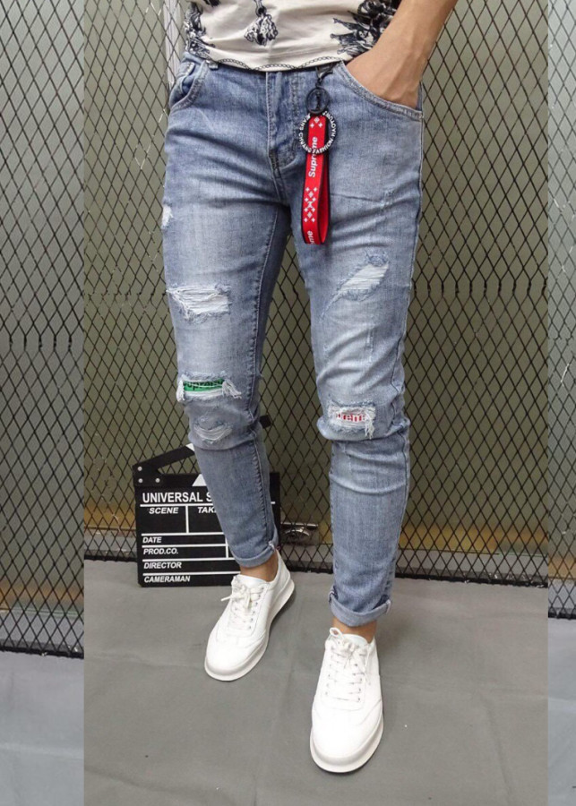 Quần jeans Nam Titishop Cao cấp QJ256